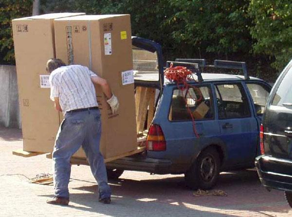 Kühlschrank Mit Auto Transportieren : Kühlschrank anschließen nach transport sollte man h warten